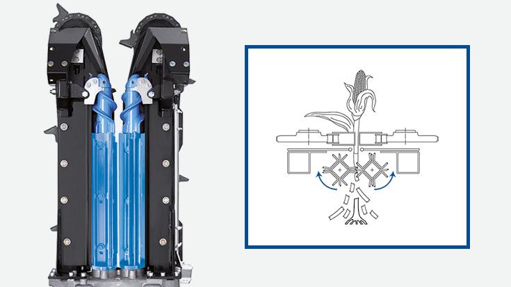 Xtreme DeComposition (XDC) Rolls residue processing management